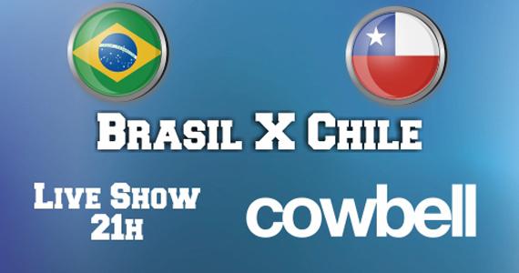 Neste sábado Jet Lag Pub transmite ao vivo o jogo do Brasil contra o Chile e show da banda Cowbell Eventos BaresSP 570x300 imagem