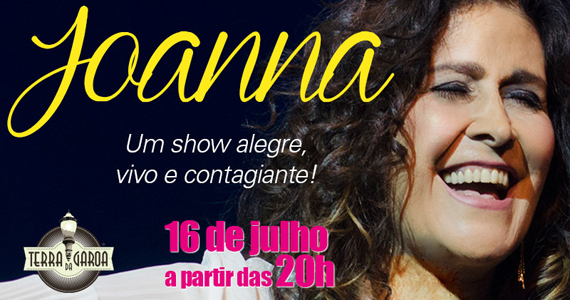 A cantora Joanna num show alegre, vivo e contagiante na Terra da Garoa Eventos BaresSP 570x300 imagem