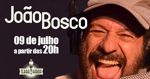 Projeto MPB recebe o cantor João Bosco nesta quarta no Terra da Garoa Eventos BaresSP 570x300 imagem