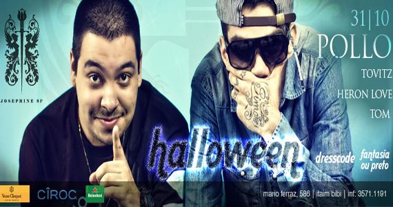 Festa de Halloween da Josephine SP anima a quarta-feira dos baladeiros Eventos BaresSP 570x300 imagem