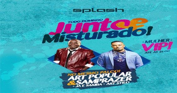 Art Popular e convidados tocam muito samba no Splash Bar no domingo Eventos BaresSP 570x300 imagem