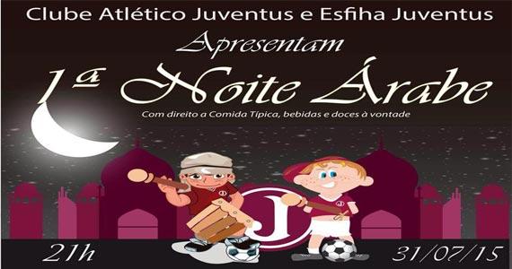 Clube Juventus realiza a Primeira Noite Árabe com muitas atrações Eventos BaresSP 570x300 imagem