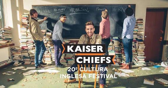 Cultura Inglesa Festival apresenta banda Kaiser Chiefs, Nação Zumbi e convidados no Memorial da América Latina Eventos BaresSP 570x300 imagem