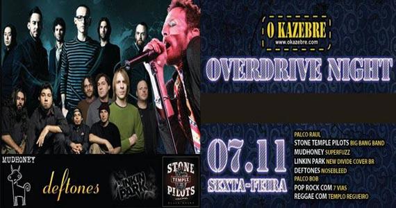 Festa Overdrive Night acontece nesta sexta-feira no Kazebre Eventos BaresSP 570x300 imagem