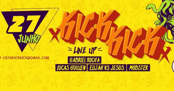 Kick Kick com Line Up de Gabriel Rocha e Convidados na Hot Hot nesta sexta Eventos BaresSP 570x300 imagem