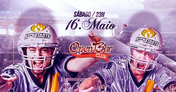 The Kickstars agita a galera com muita música na balada Open Bar Eventos BaresSP 570x300 imagem