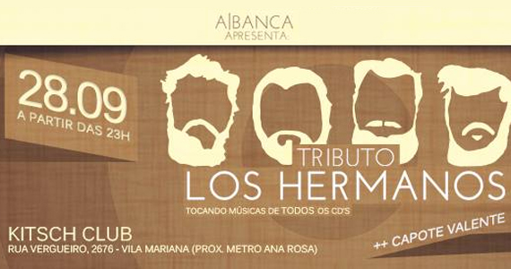 A Banca apresenta tributo ao Los Hermanos neste sábado na Kitsch Club Eventos BaresSP 570x300 imagem