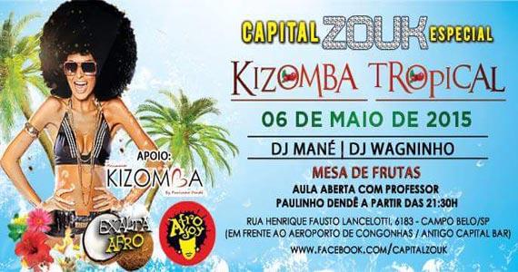 Noite de Kizomba Tropical agita a galera com muita dança no San Diego Bar Eventos BaresSP 570x300 imagem