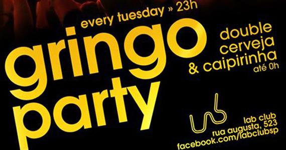 Lab Club recebe festa Gringo Party nesta terça-feira com Double Caipirinha Eventos BaresSP 570x300 imagem
