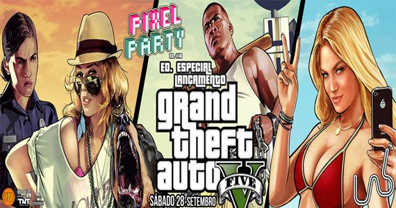 Pixel Party especial GTA V anima a noite deste sábado na Lab Club Eventos BaresSP 570x300 imagem