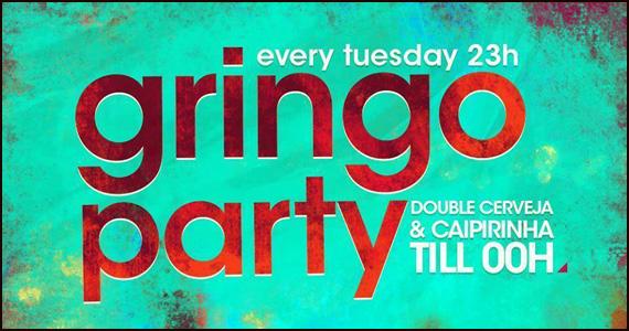 Mais uma edição da Gringo Party agita a noite desta terça-feira na Lab Club Eventos BaresSP 570x300 imagem
