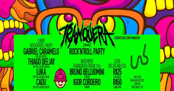 Festa Tranquera agita a noite com DJs convidados nesta sexta-feira na Lab Club Eventos BaresSP 570x300 imagem