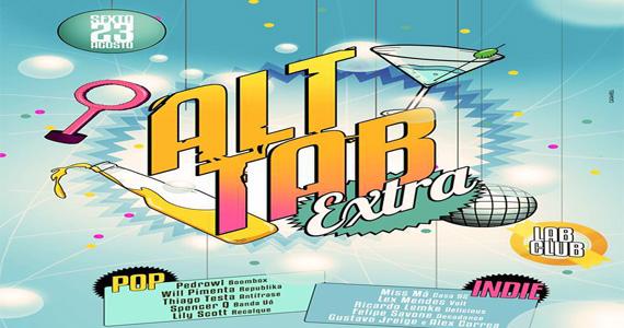 Lab Club recebe festa Alt Tab para agitar a noite desta sexta Eventos BaresSP 570x300 imagem