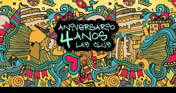 Lab Club comemora 4 anos de aniversário com convidados especiais Eventos BaresSP 570x300 imagem