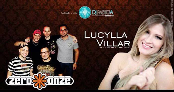 Lucylla Villar e banda Zero Onze se apresentam no palco da Lanterna Eventos BaresSP 570x300 imagem