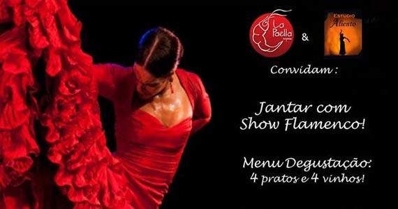Jantar com Tablao Flamenco é o destaque do La Paella Express Eventos BaresSP 570x300 imagem