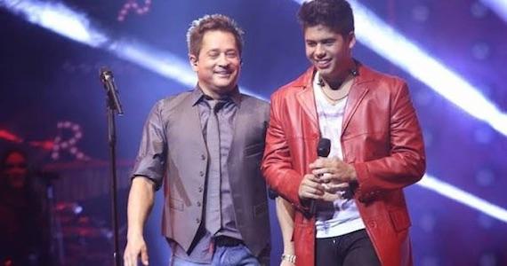 Leonardo e Zé Felipe apresentam o show Pai & Filho no palco do Coração Sertanejo Eventos BaresSP 570x300 imagem