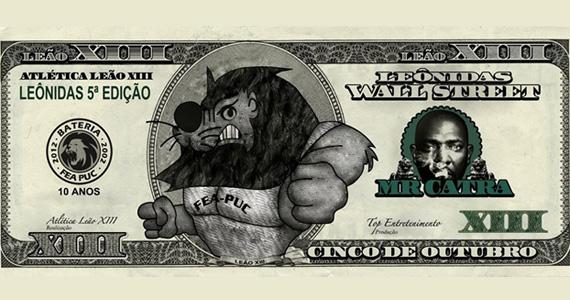 Mr. Catra se apresenta na festa Leônidas Wall Street da FEA Puc na sexta-feira Eventos BaresSP 570x300 imagem