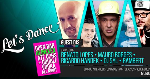 Mono Club recebe neste sábado a festa Let's Dance com open bar de Heineken e Double Vodka all Night Eventos BaresSP 570x300 imagem