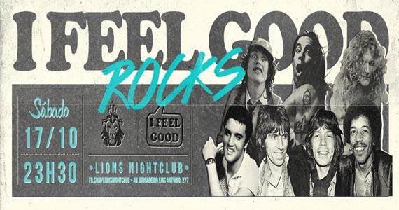 Festa iFeelgood Rock mistura música brasileira com soul, rock, jazz e outros ritmos na Lions Nightclub Eventos BaresSP 570x300 imagem