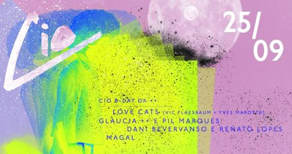 Festa Cio comemora o aniversário da DJ Glaucia ++ nesta quarta no Lions Nightclub Eventos BaresSP 570x300 imagem
