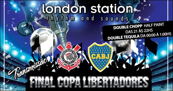 Double chopp e tequila além de Final da Libertadores no London Station Eventos BaresSP 570x300 imagem