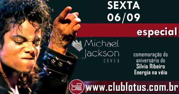 Club Lotus tem especial Michael Jackson com cover e aniversário de Silvio Ribeiro Eventos BaresSP 570x300 imagem