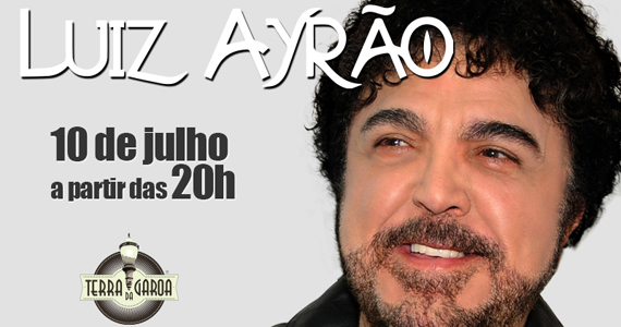 Luiz Ayrão em única apresentação na Terra da Garoa tocando os seus maiores sucessos Eventos BaresSP 570x300 imagem