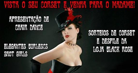 Madame recebe neste sábado Cabaret Vintage com convidados especias Eventos BaresSP 570x300 imagem