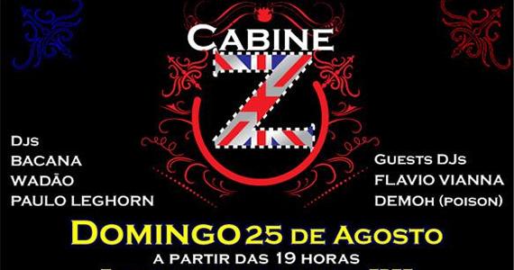 Projeto Cabine Z embala domingo no Madame com rock underground Eventos BaresSP 570x300 imagem