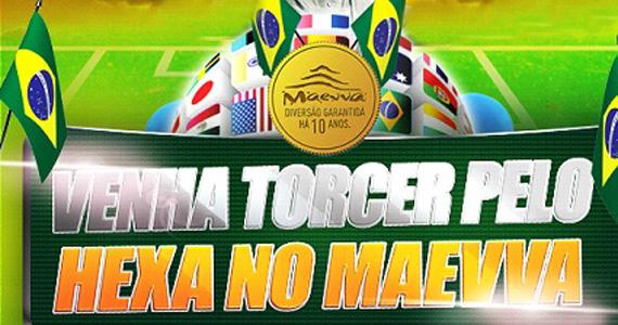 Copa do Mundo 2014 com transmissão dos jogos do Brasil é no Maevva bar Eventos BaresSP 570x300 imagem