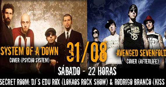 Manifesto Rock Bar apresenta covers de System Of A Down e Avenged Sevenfold neste sábado Eventos BaresSP 570x300 imagem
