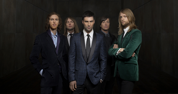 Maroon Five apresenta canções inéditas de seu novo álbum Overexposed na Arena Anhembi Eventos BaresSP 570x300 imagem
