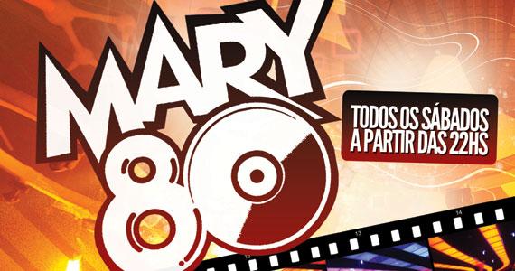 Mary Pop apresenta sua tradicional festa Mary 80 no sábado Eventos BaresSP 570x300 imagem