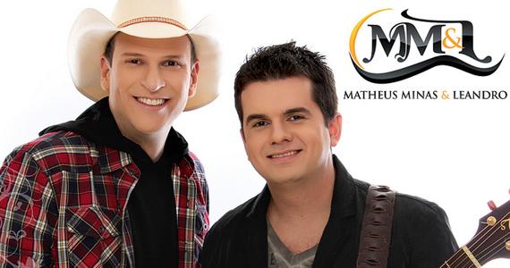 Matheus Minas e Leandro gravam cd ao vivo em apresentação na Villa Country Eventos BaresSP 570x300 imagem