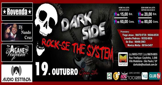 Festa Rock-se The System embala a noite de sábado no Matizes Bar Eventos BaresSP 570x300 imagem
