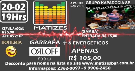 Grupo Kapadócia se apresenta no palco do Matizes Bar Eventos BaresSP 570x300 imagem