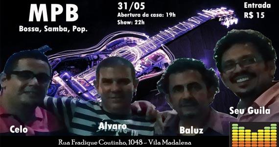 Música Popular Brasileira no palco do Matizes no sábado Eventos BaresSP 570x300 imagem
