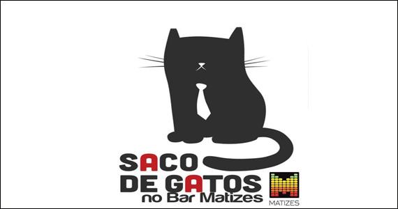Apresentação Saco de Gatos no palco do Matizes Bar  Eventos BaresSP 570x300 imagem