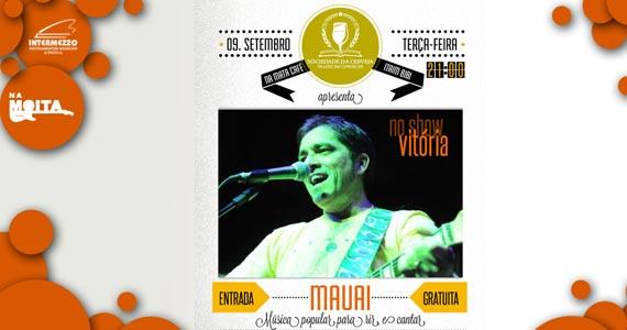Na Mata Café recebe show do cantor Mauai com muita música popular brasileira Eventos BaresSP 570x300 imagem