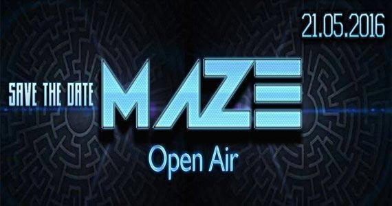 Maze Open Air traz o melhor da música eletrônica em festa especial Eventos BaresSP 570x300 imagem