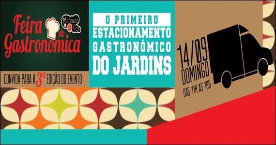Feira Gastronômica do Mercado Pop acontece na Rua Augusta  Eventos BaresSP 570x300 imagem