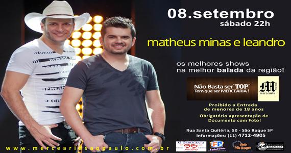 Mercearia São Paulo apresenta Matheus Minas e Leandro Eventos BaresSP 570x300 imagem