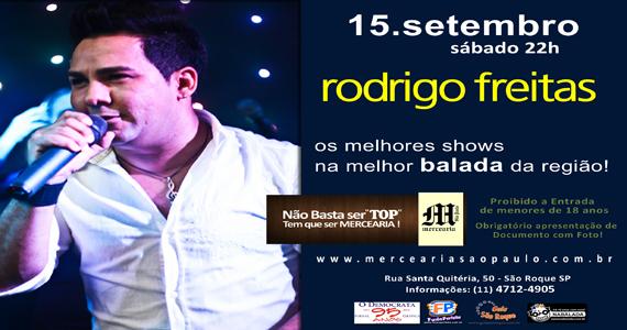 Mercearia São Paulo apresenta show de Rodrigo Freitas Eventos BaresSP 570x300 imagem