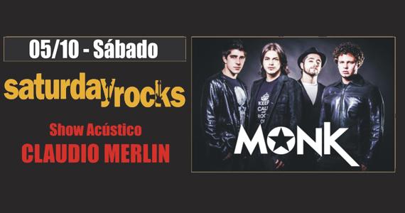 Claudio Merlin & Banda Monk levam rock para o sábado do Republic Pub Eventos BaresSP 570x300 imagem