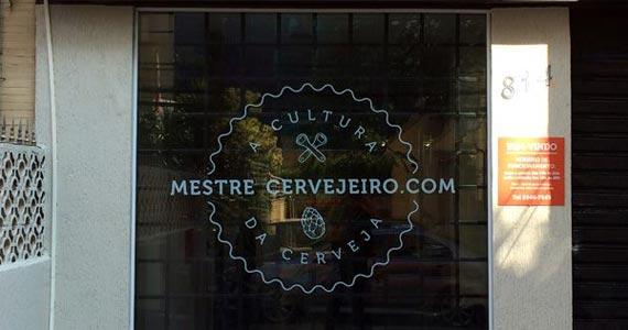 Inauguração do  Mestre Cervejeiro no bairro da Vila Madalena Eventos BaresSP 570x300 imagem