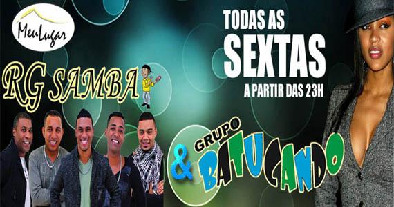RG Samba e Grupo Batucando levam os melhores ritmos do pagode e samba para o palco do Meu Lugar Eventos BaresSP 570x300 imagem