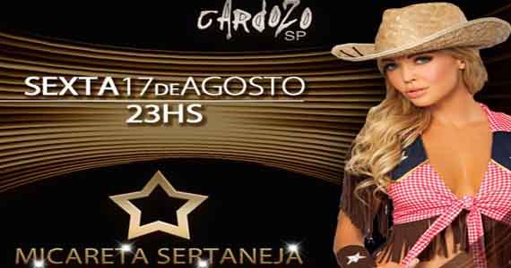 Cardozo Bar promove Micareta Sertaneja nesta sexta-feira Eventos BaresSP 570x300 imagem