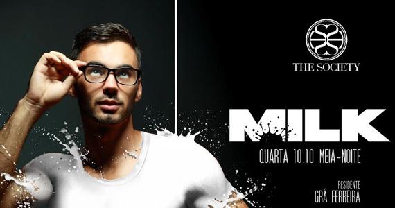 Milk recebe DJs Arthur Valleti e Las Bibas Vizcaya na The Society Eventos BaresSP 570x300 imagem