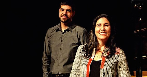 Mônica Salmaso e André Mehmari fazem show no palco do Theatro NET São Paulo Eventos BaresSP 570x300 imagem